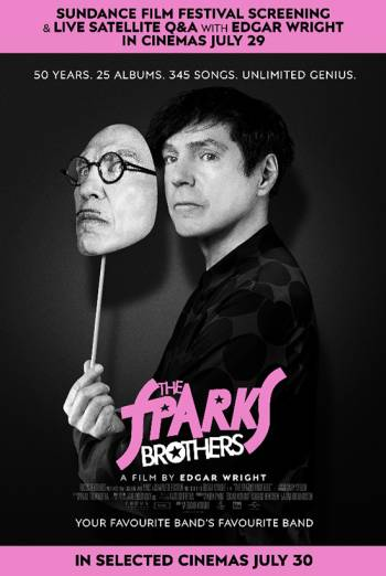 Film poster for: The Sparks Brothers + Live Q&A with Edgar Wright
