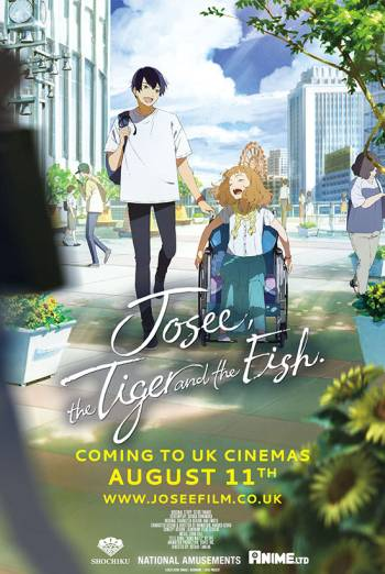 Film poster for: Josee, the Tiger & the Fish
