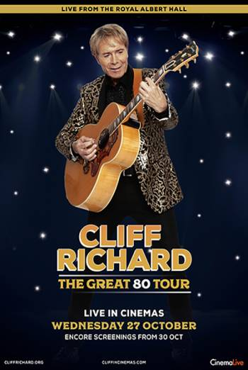 Film poster for: Cliff Richard: The Great 80 Tour