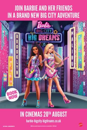 Film poster for: Barbie: Big City, Big Dreams