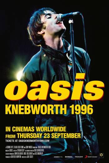 Film poster for: OASIS KNEBWORTH 1996