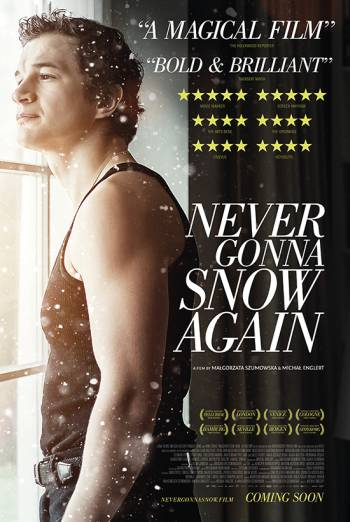 Film poster for: Never Gonna Snow Again