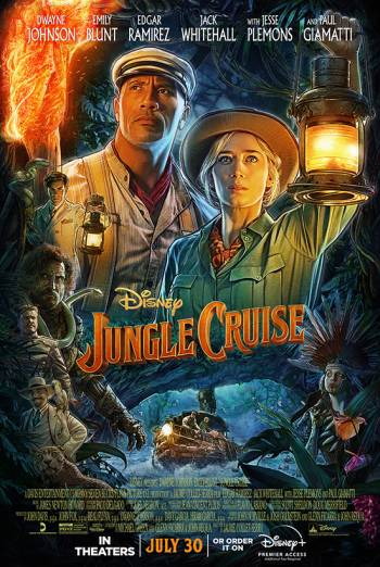 Film poster for: Jungle Cruise