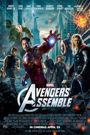 MARVEL - AVENGERS ASSEMBLE <span>[AVEN-BVI12-THEATTT4-A - TRAILER 4]</span> artwork