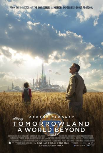 DISNEY TOMORROWLAND - A WORLD BEYOND - INCREDIBLE artwork