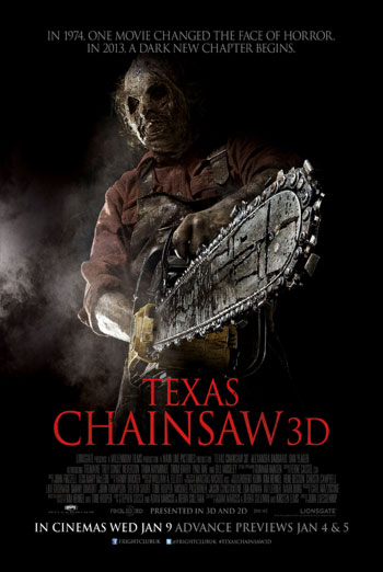 TEXAS CHAINSAW 3D artwork