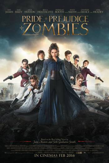 PRIDE AND PREJUDICE AND ZOMBIES artwork