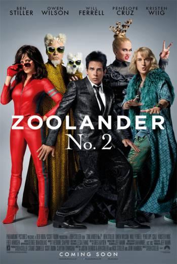 ZOOLANDER 2 artwork
