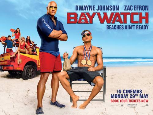 Image result for baywatch 2017 quad poster