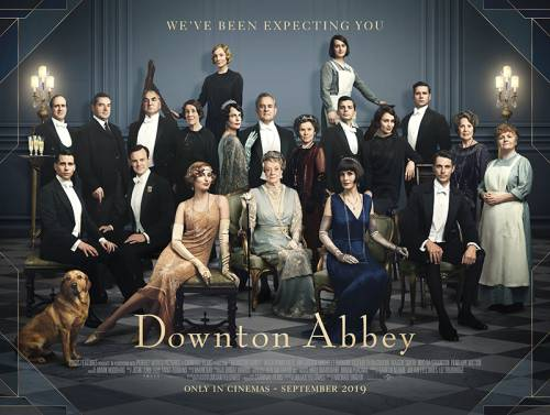 Image result for film poster downton abbey