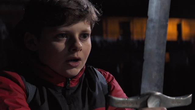 watch THE KID WHO WOULD BE KING trailer