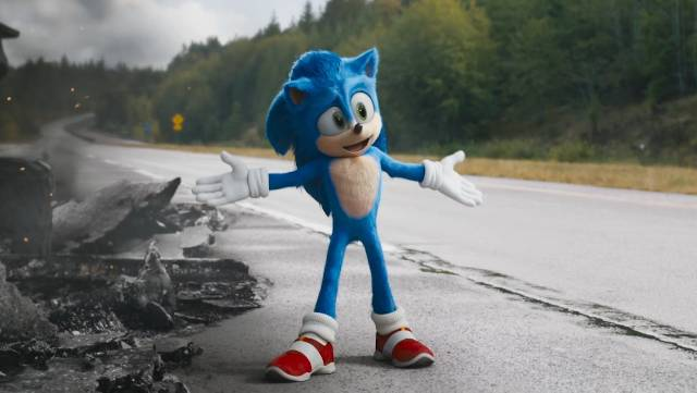 watch SONIC THE HEDGEHOG trailer