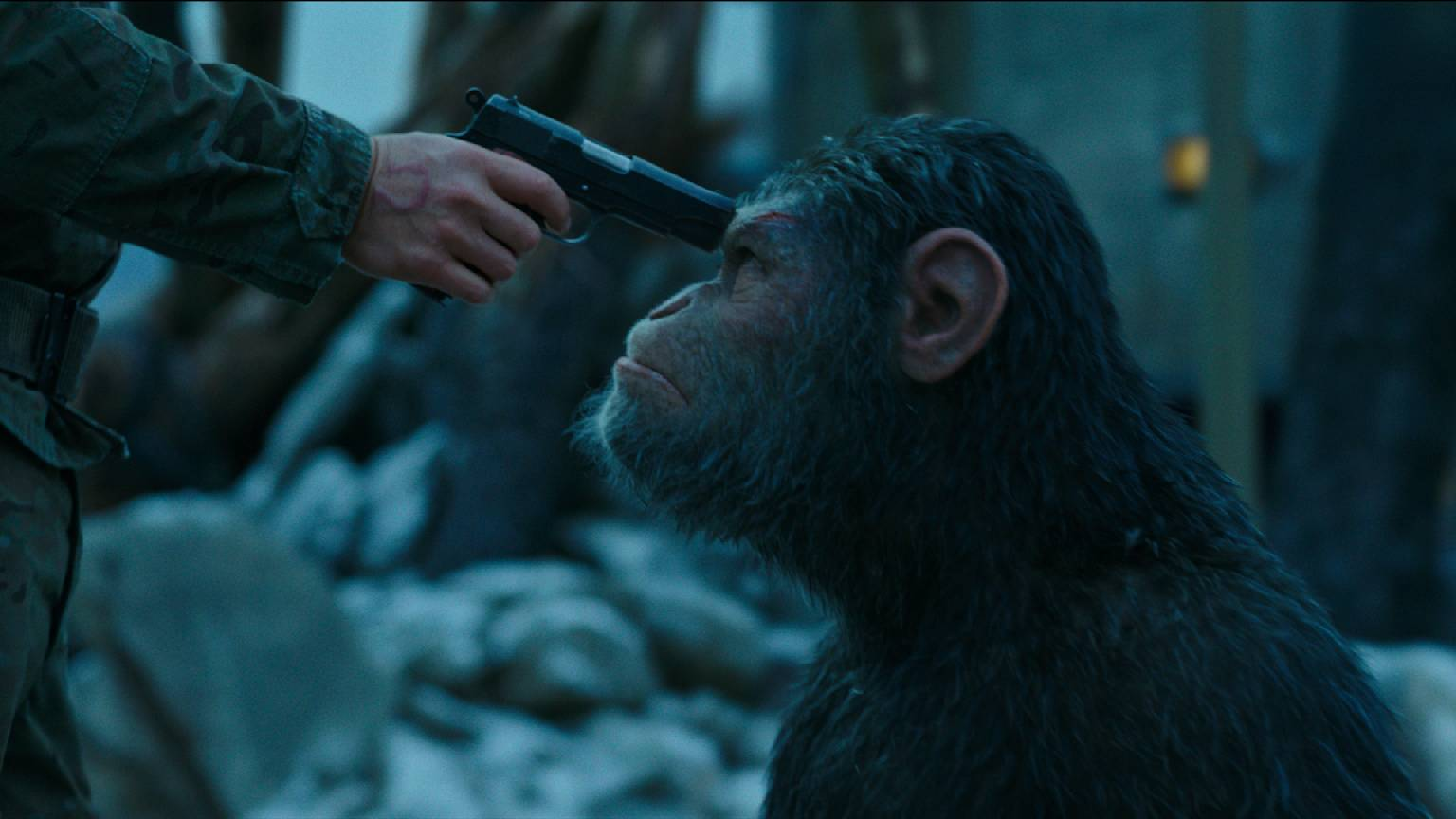 Image result for war of the planet of the apes